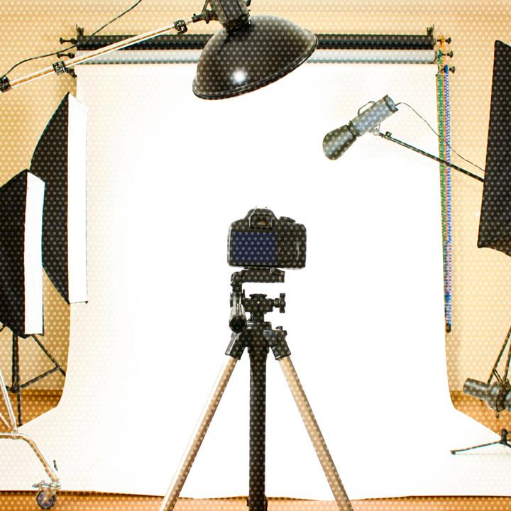 スタジオ撮影サービス イメージ